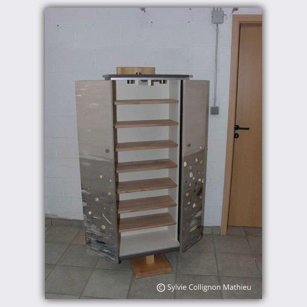 armoire cds luxart. Black Bedroom Furniture Sets. Home Design Ideas
